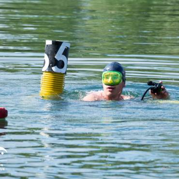 arrivée nageur élite