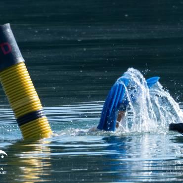 départ nageur